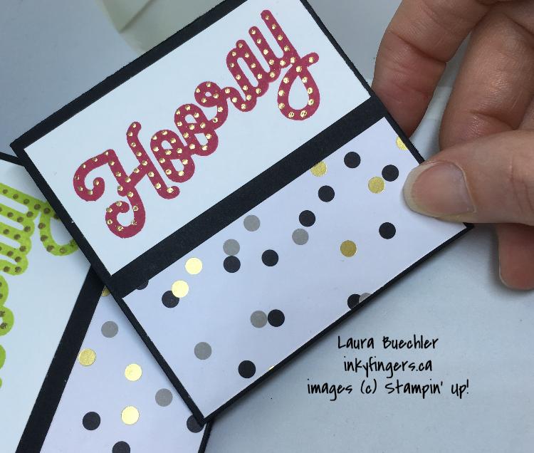 Mini Cards + EmbossingTip