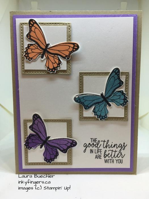 butterflies squares