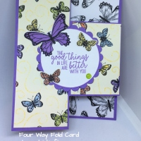 Tutorial: Four-Way Fold Card
