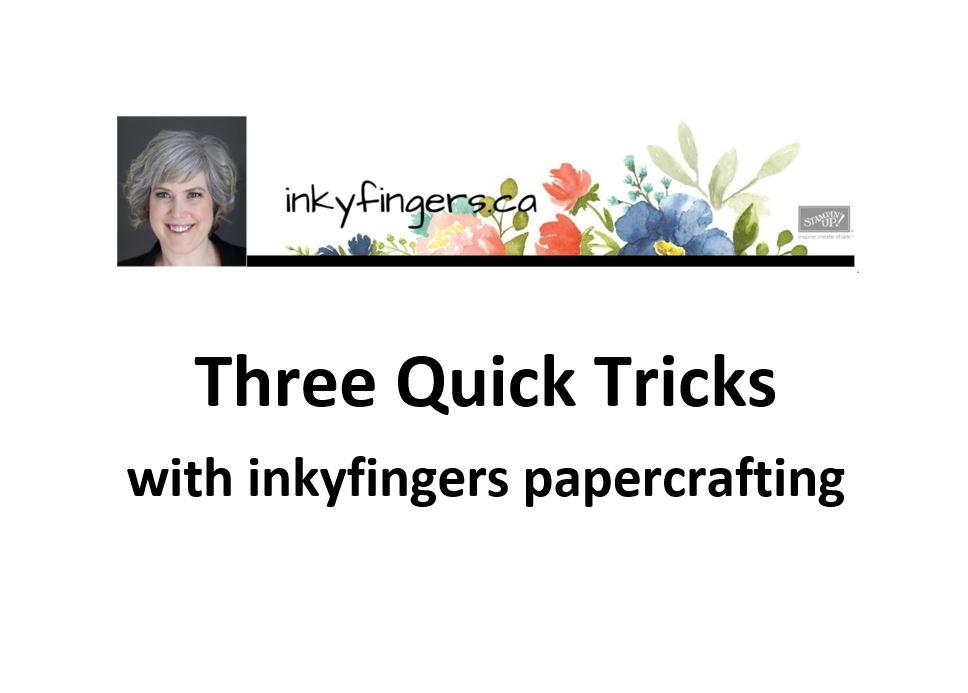 Video Tutorial: Three QuickTricks