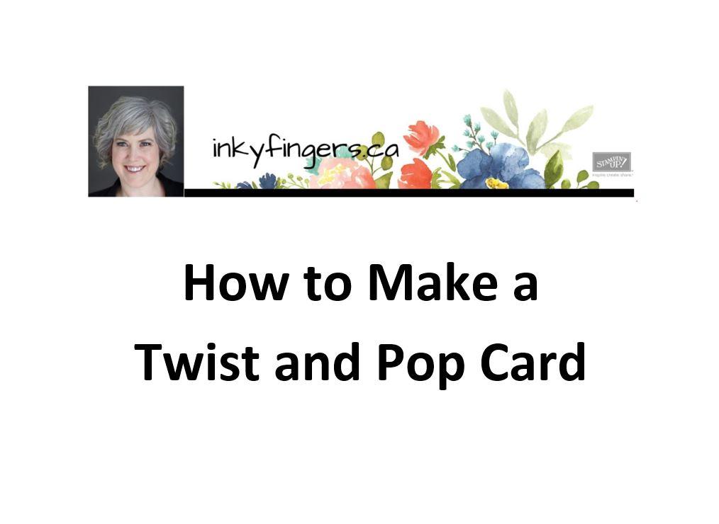 Video Tutorial: Twist and PopCard