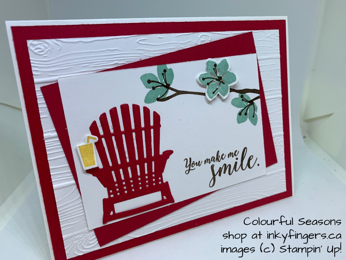 Seashore Blog Hop: Red and White forCanada
