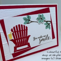 Seashore Blog Hop: Red and White for Canada