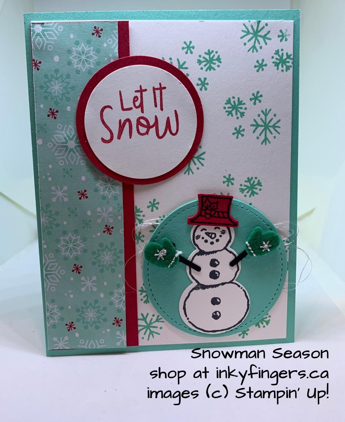 Video: Snowman SeasonCard