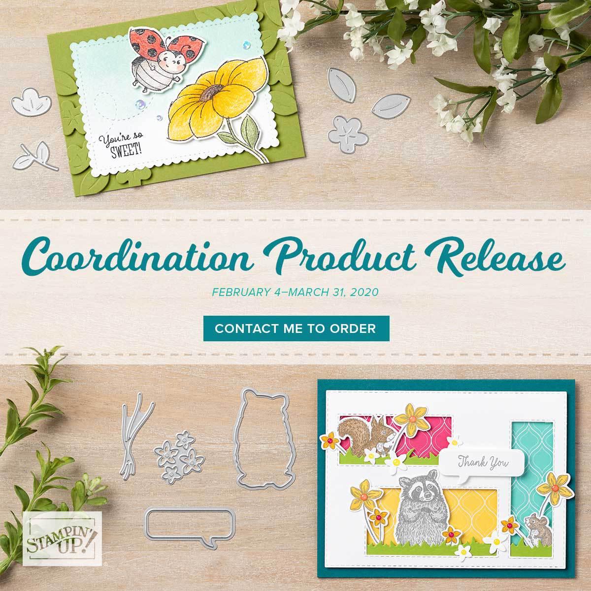 Beautiful New Co-ordinatingProducts!