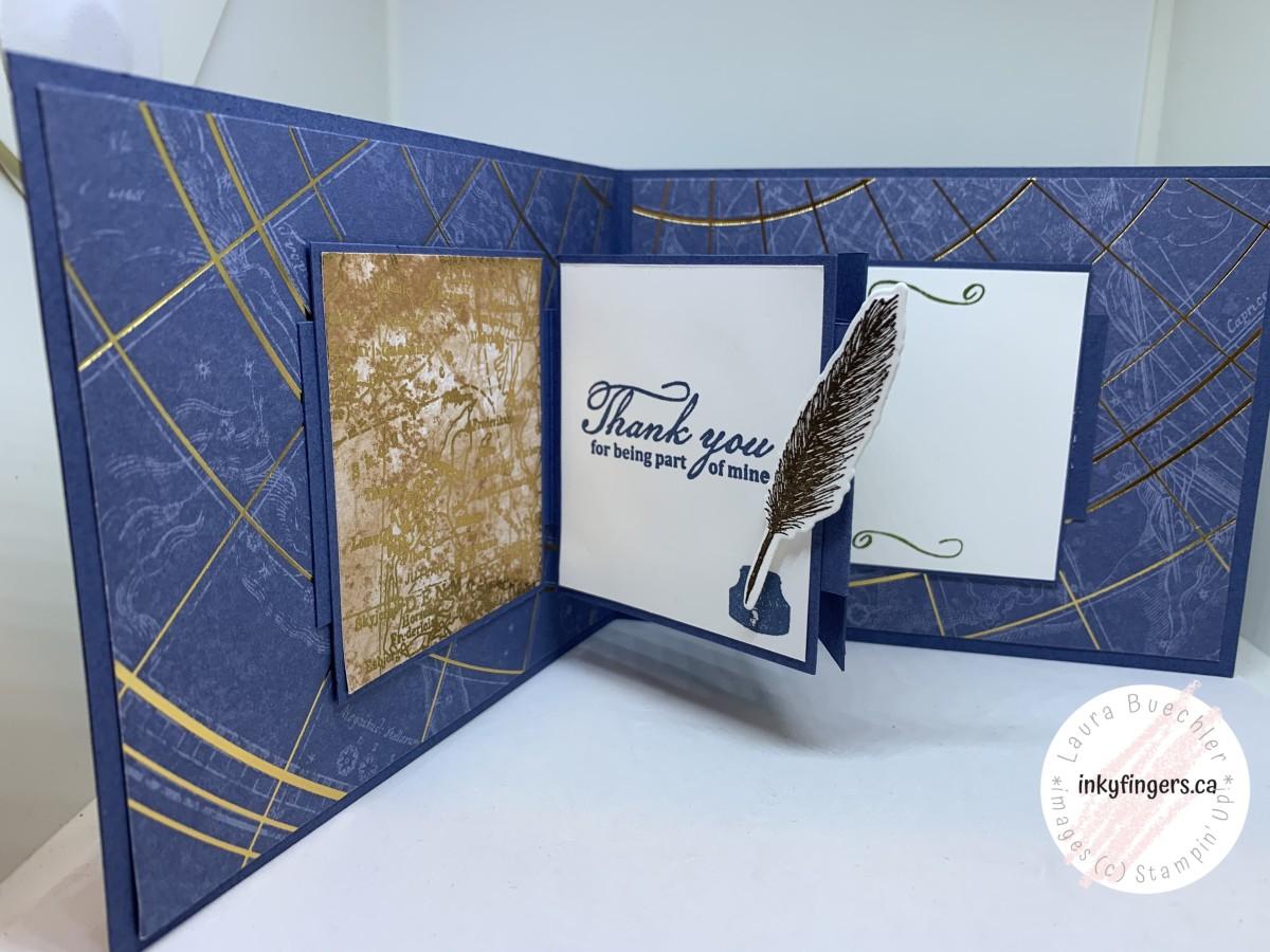 Tutorial: W-Card Fold