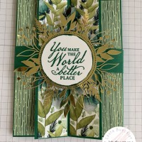 Tutorial: Double Gatefold Card