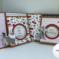 Video Tutorial: Playful Pets Peekaboo Card
