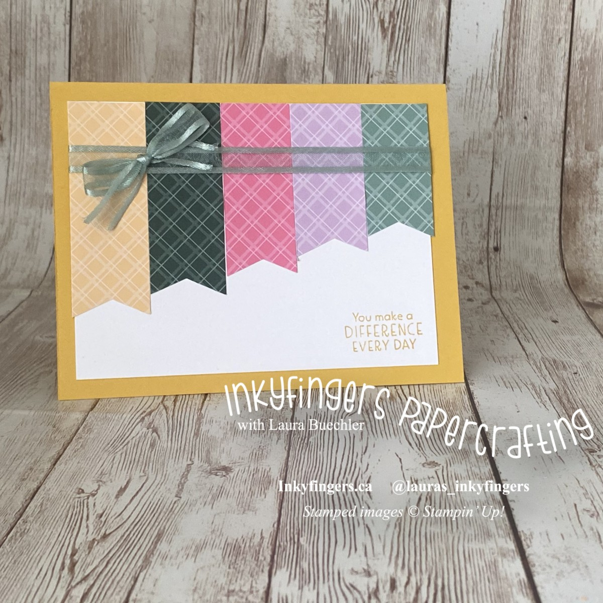 Video Tutorial: Mounting Cling Stamps + Simple DSP BannersCard